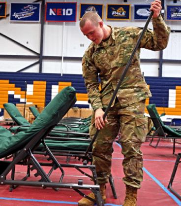 Enlistment Process at NHARNG